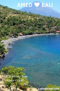 Amed #Bali Travel Guide: Volcanic Beaches, Tucked-Away Resorts | LatinAbroad.com #Indonesia
