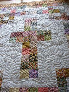 You can find the tutorial for this on my site..I love this quilt! It's so special...and It just spoke to me. and I quilted it with great meaning.