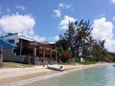 Beach House in Grand Baie, Rivière du Rempart District Best Places To Eat, Mauritius, Beach House, Restaurants, Island, Mansions, House Styles, Mauritius Travel, Mauritius Island