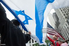 Multitudinario desfile en Nueva York en apoyo de Israel