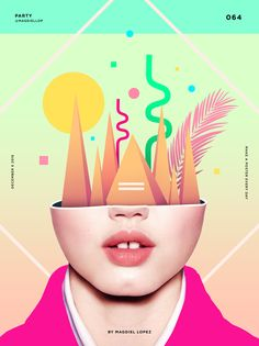 Inspirational illustrator and designer Magdiel Lopez has challenged himself to create a cool poster everyday. Graphic Design Trends, Web Design, Graphic Design Posters, Graphic Design Illustration, Graphic Design Inspiration, Graphic Art, Design Art, Creative Illustration, Portfolio Design Grafico