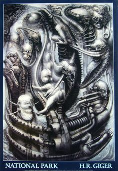 Hans Rudi Giger(designer:Alien(creature from the movie,amongst others))