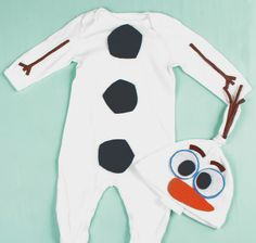 Olaf Costume - Baby & Infant by T00Cute4Words on Etsy https://www.etsy.com/dk-en/listing/241902569/olaf-costume-baby-infant