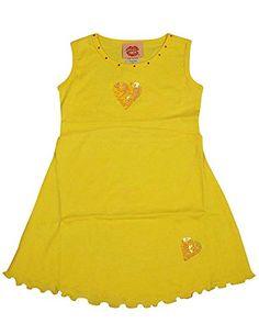 Lipstik Girls  Little Girls Dress Yellow 105892T ** Learn more by visiting the image link.