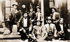 "the Navasota Current: TEXAS RANGERS! Made around 1908, this photo was taken in Alpine, Texas, and features three Texas Rangers who served in Grimes County. 1) Frank A. Hamer, 3) Marvin E. Bailey and 4) R. M. ""Duke"" Hudson. The first two became Ranger Captains, and served as Navasota's City Marshal, and Hudson was elected to County Sheriff in 1924."