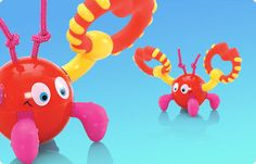 Nuby Crawly Crab - My son would be all over this! #Nuby
