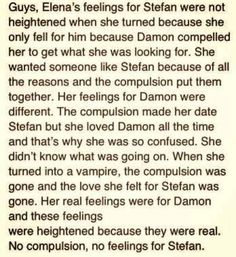 Team Delena FOREVER!!!!!! I ALWAYS knew she would be with Damon in the end!!!!!