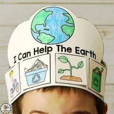Earth Day Activities (Earth Day Craft, Writing Prompt, Reader & More! Earth Craft, Earth Day Crafts, Planet Crafts, Earth Day Preschool Activities, Activities For Kids, Drawing For Kids, Art For Kids, Earth Day Drawing, Earth Poster