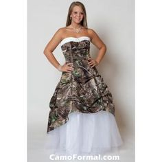 Mossy Oak New Breakup Attire Camouflage Wedding