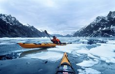 sea of ice, Greenland
