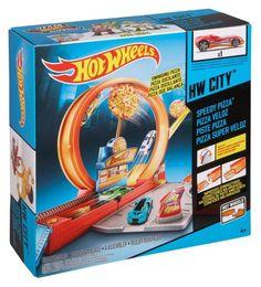 BGJ05 / X9295 Mattel Hot wheels SPEEDY PIZZA