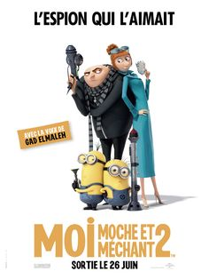 Moi, Moche et Méchant 2 de Chris Renaud et Pierre Coffin, 2013
