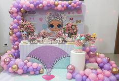 LOL Surprise Dolls Birthday Party Girls Birthday Party Themes, 6th Birthday Parties, Birthday Party Decorations, Surprise Birthday, Lol Doll Cake, Doll Party, Lol Dolls, Ballon, Party Time