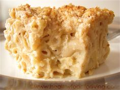 """Creamy Cauliflower Mac and Cheese-This was so creamy and wonderful! Next time I will go a little lighter on the mustard, since I'm not a huge """"mustard in mac and cheese fan."""" I look forward to making this again!"""