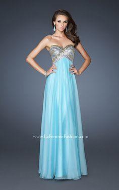 PROM DRESSES   La Femme Fashion 2012 - La Femme Prom Dresses - Dancing with the Stars