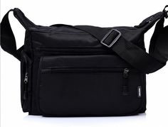 Bestbag Man Bag Shoulder Messenger Bag College Sports Business Casual Bags Black >>> Find out more about the great product at the image link. (This is an Amazon Affiliate link and I receive a commission for the sales)
