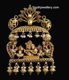 Indian Jewellery Designs - Latest Indian Jewellery Designs 2020 ~ 22 Carat Gold Jewellery one gram gold Rose Gold Jewelry, Wedding Jewelry, Gold Set Design, Gold Jewellery Design, Temple Jewellery, Jewellery Shops, Indian Jewelry, Pendant Jewelry, Antique Jewelry