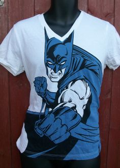 Mens TShirt Small Batman by scatteredvintage on Etsy, £12.00