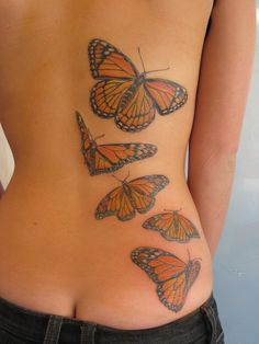 Pretty. I wouldn't ever get a full back tattoo, but a butterfly like this would be ideal.
