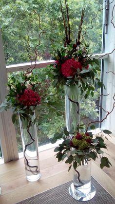 Gladiolus and hydrangeas by ROSMARINO