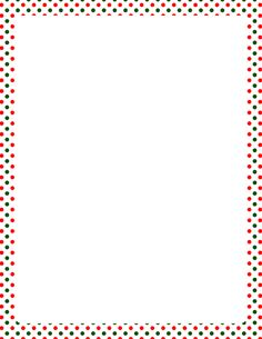 Printable Christmas polka dot border. Free GIF, JPG, PDF, and PNG downloads at http://pageborders.org/download/christmas-polka-dot-border/. EPS and AI versions are also available.