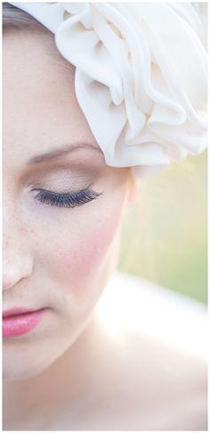 Green Wedding, eco, green, brown, yellow, bride, make-up, headpiece - Hellbunt Events