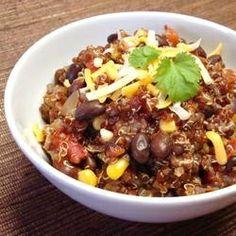 Quinoa and Black Bean Chili