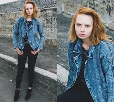 Kristina M. - Shabby jeans.