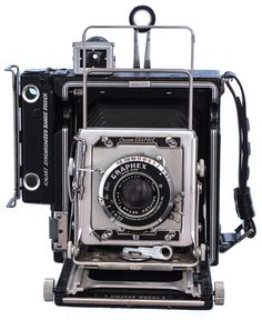 1947 Graflex Pacemaker Crown Land #vintage #camera