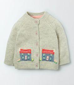 Baby Crochet Cardigan