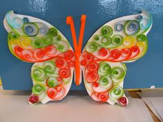 paper butterfly craft - Google Search