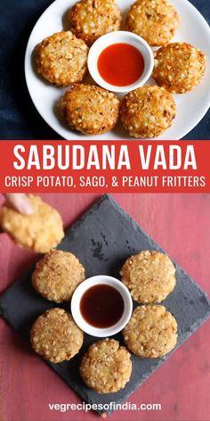 Sabudana Recipes, Pakora Recipes, Chaat Recipe, Spicy Recipes, Vegetarian Recipes, Cooking Recipes, Healthy Recipes, Snacks Recipes, Yummy Recipes