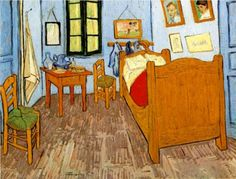Vincent's Bedroom in Arles  - Vincent van Gogh