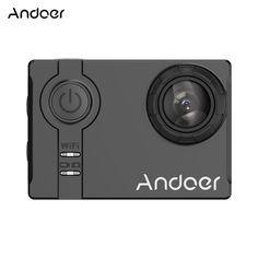 Andoer AN7000 Full HD 16MP WiFi Anti-shake Waterproof Diving Sales Online black - Tomtop.com #photo #video #camera