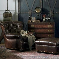 Awesome chair, but the ottoman may be a little too big
