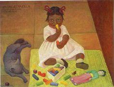Irene Estrella by Diego Rivera (1886-1957, Mexico)