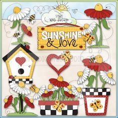 Love My Garden 2 - NE Trina Clark Clip Art : Digi Web Studio, Clip Art, Printable Crafts & Digital Scrapbooking!