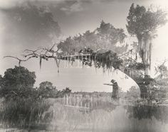 clarence john laughlin | Clarence John Laughlin - Elegy for Moss Land