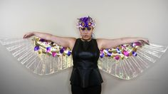 Today I show you how I made my lame wings! They are inspired by the wings Katy Perry wore in her Dark Horse video. Hope you find this helpful and enjoy! Spec...
