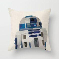 Star Wars Pillow Cushion Cover Polygon Art   Geeks&Art&Design