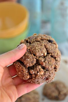 Gluten-Free, Vegan Almond Cookies #glutenfree