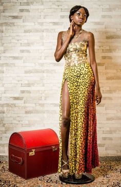 """Nigeria's Jennifer Okolo presents """"From Epic to Chic"""" Collection Lookbook   FashionGHANA.com (100% African Fashion)FashionGHANA.com (100% African Fashion)"""