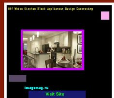 Off White Kitchen Black Appliances Design Decorating 181941 - The Best Image Search