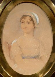 A watercolor portrait of Jane Austen commissioned in 1869 and retained by the Austen family fetched $270,600 at auction at Sotheby's in London