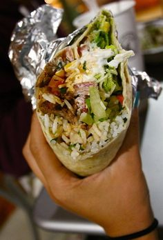 We love burritos. We realize it's not a gadget, but burritos are things we like. Burritos, I Love Food, Good Food, Yummy Food, Healthy Food, Tasty, Taco Bar, Food Goals, Aesthetic Food