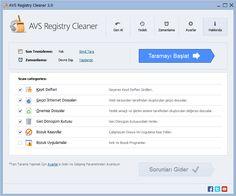 AVS Registry Cleaner Full Türkçe indir Bilgisayarın kalbi sayılan kayıt defteri, yani registry temizliği ve bakımlığı çok önemlidir, zamanla bir ton şey kurup kaldırıyoruz ve bunların artıkları birikiyor, bu artıkla performans kaybına sebep veriyor, Avs Registry Cleaner ile bu sorunları aşabiliy... http://www.full-program-indir.com/avs-registry-cleaner-full-indir-turkce.html