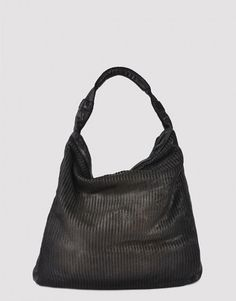 1dff04a2a9fc5 Handbag bag Leather Perforated Metal Black Moon Reptile s House