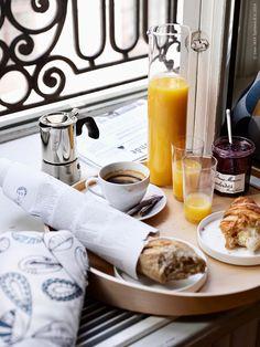 Coffee breakfast...