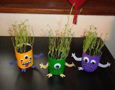 Monstres aux plantes