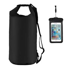 CapsA 2L Waterproof Dry Bag Backpack Floating Dry Backpack for Water Sports Fishing Boating Kayaking Surfing Rafting Camping Gifts for Men Women Inflatable Snorkeling Rafting Drifting Diving Dry Bag